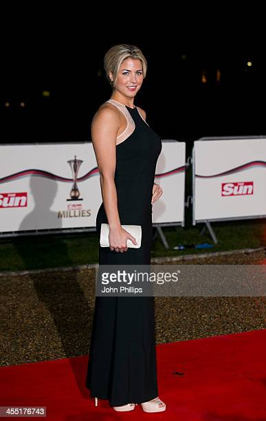 Gemma Atkinson attends The Sun Military Awards at National Maritime Museum on December 11 2013 in London England