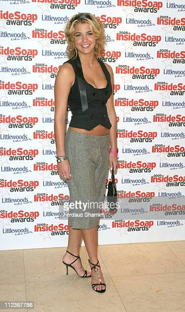 Gemma Atkinson during 2005 Inside Soap Awards at Floridita in London Great Britain