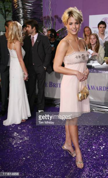 Gemma Atkinson during British Soap Awards 2006 Arrivals at BBC Television Centre in London Great Britain