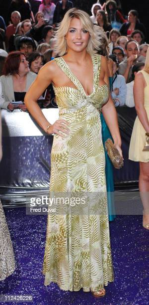 Gemma Atkinson during British Soap Awards Red Carpet Arrivals at BBC Television Centre in London Great Britain