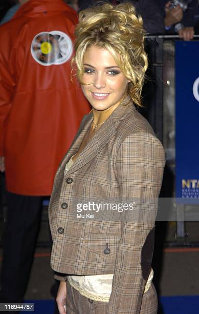 Gemma Atkinson during National Television Awards 2005 at Royal Albert Hall London in London United Kingdom