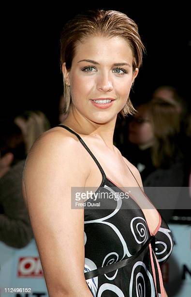 Gemma Atkinson during National Television Awards 2006 Red Carpet at Royal Albert Hall in London Great Britain
