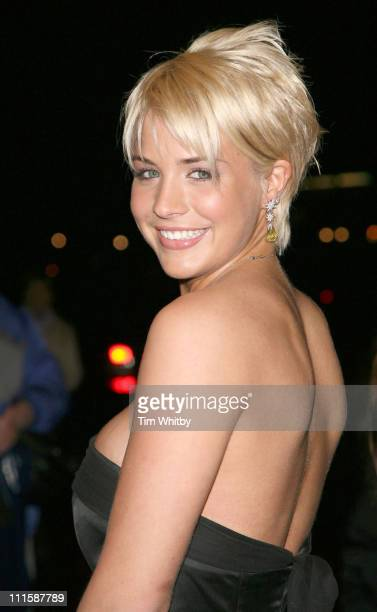 Gemma Atkinson during Royal Television Society Programme Awards Outside Arrivals at Grosvenor House Hotel in London Great Britain