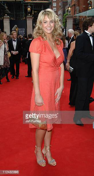 Gemma Atkinson during The 2006 British Academy Television Awards Arrivals at Grosvenor House in London Great Britain