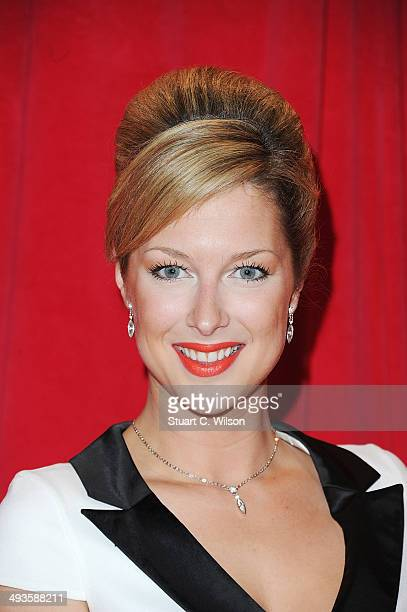 Gemma Bissix attends the British Soap Awards at Hackney Empire on May 24 2014 in London England