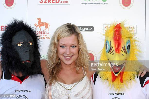 Gemma Bissix during 32Redcom Paddy Power Football Furlong July 16 2006 at Haydock Park Racecourse in NewtonleWillows Great Britain