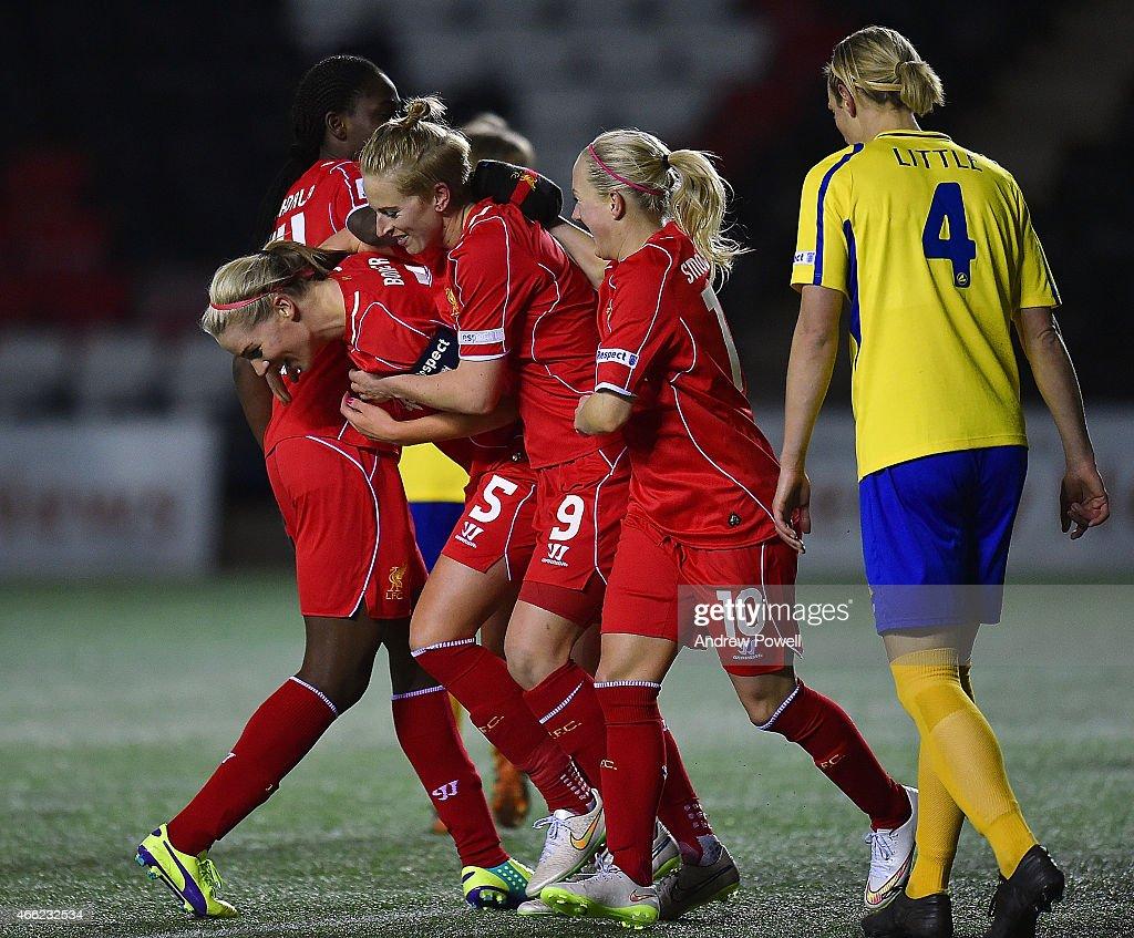 Liverpool Ladies v Doncaster Rovers Ladies : News Photo
