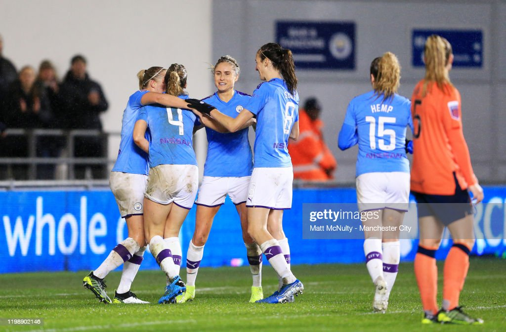 Manchester City v Everton - Barclays FA Women's Super League : Foto di attualità