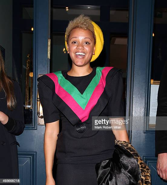 Gemma Cairney attending the Storm In A C Cup By Caroline Flack Book Launch Party on October 21 2015 in London England