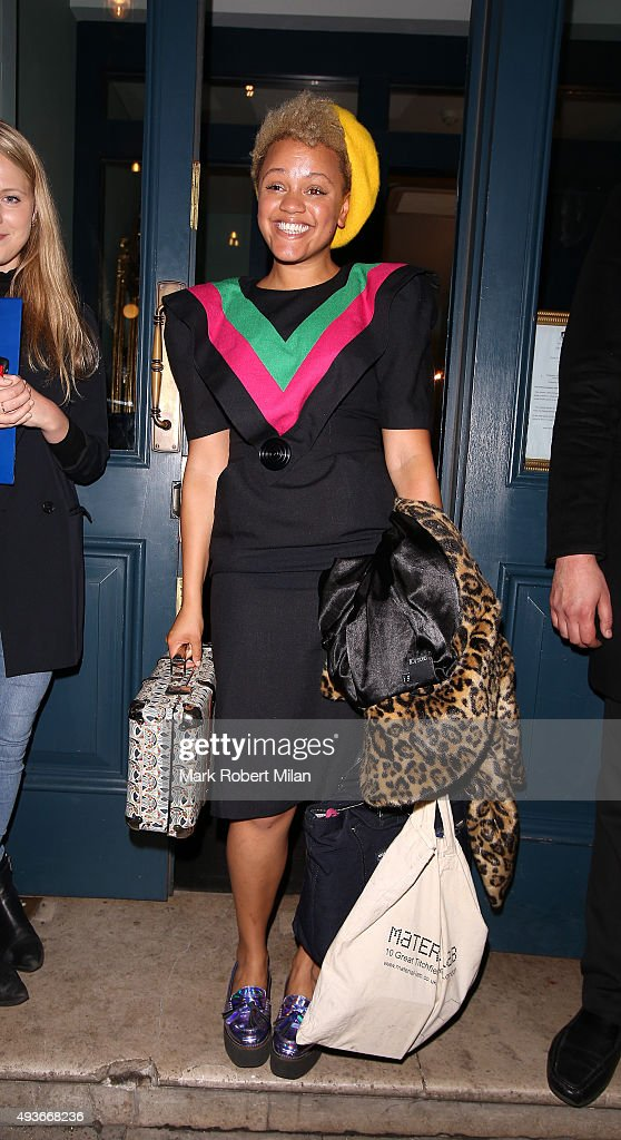 Gemma Cairney attending the 'Storm In A C Cup' By Caroline Flack Book Launch Party on October 21, 2015 in London, England.