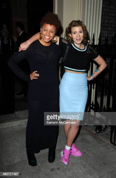 Gemma Cairney attends a party to celebrate 25 years of Magnum at Home House on March 26 2014 in London England