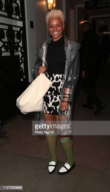Gemma Cairney seen attending The ELLE List event at The Petersham Restaurant on June 19 2019 in London England