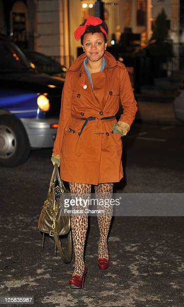Gemma Carney attends the Radio Times Covers Party at Claridge's Hotel on January 18 2011 in London England
