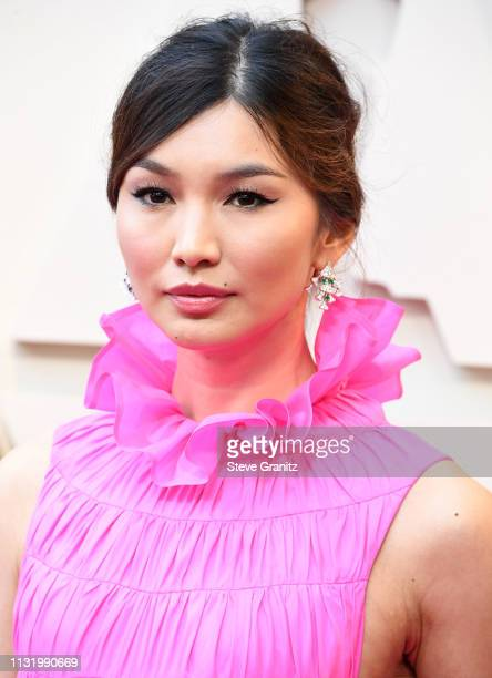 Gemma Chan arrives at the 91st Annual Academy Awards at Hollywood and Highland on February 24 2019 in Hollywood California