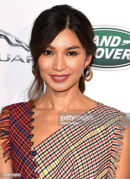Gemma Chan arrives at the The BAFTA Los Angeles Tea Party at Four Seasons Hotel Los Angeles at Beverly Hills on January 5 2019 in Los Angeles...