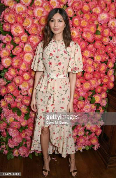 Gemma Chan attends a private dinner hosted by Michael Kors to celebrate the new Collection Bond St Flagship Townhouse opening on May 9 2019 in London...