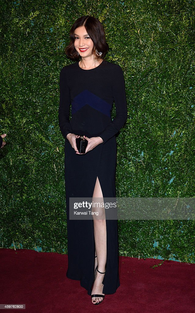Gemma Chan attends the 60th London Evening Standard Theatre Awards at London Palladium on November 30, 2014 in London, England.