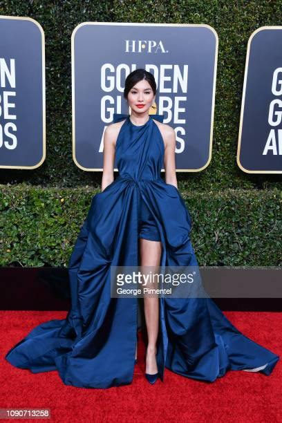 Gemma Chan attends the 76th Annual Golden Globe Awards held at The Beverly Hilton Hotel on January 06, 2019 in Beverly Hills, California.