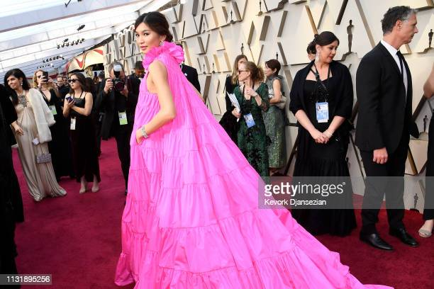 Gemma Chan attends the 91st Annual Academy Awards at Hollywood and Highland on February 24, 2019 in Hollywood, California.