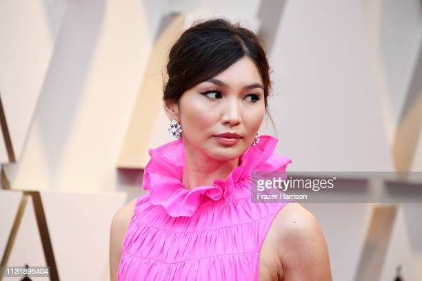 Gemma Chan attends the 91st Annual Academy Awards at Hollywood and Highland on February 24 2019 in Hollywood California