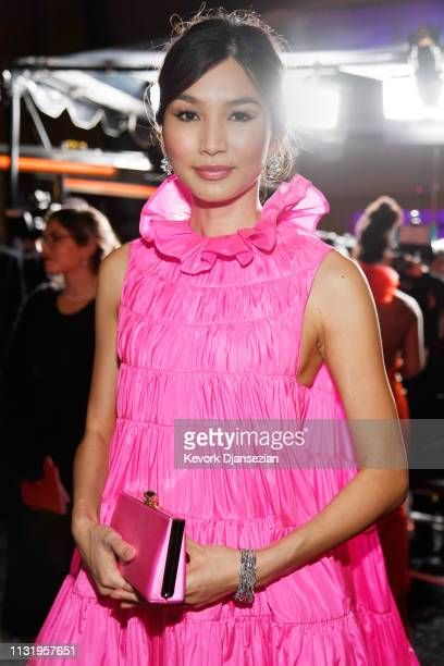 Gemma Chan attends the 91st Annual Academy Awards Governors Ball at Hollywood and Highland on February 24 2019 in Hollywood California