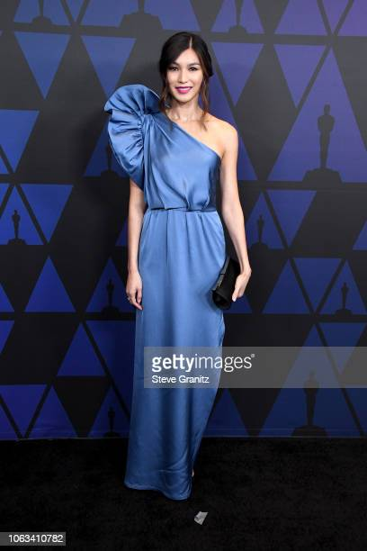 Gemma Chan attends the Academy of Motion Picture Arts and Sciences' 10th annual Governors Awards at The Ray Dolby Ballroom at Hollywood Highland...