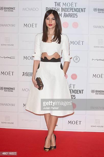 Gemma Chan attends the Moet British Independent Film Awards at Old Billingsgate Market on December 7 2014 in London England