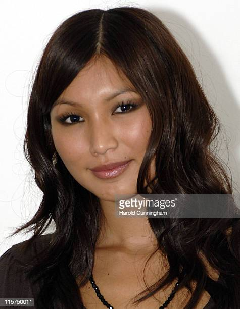 """Gemma Chan during Zone Horror's """"When Evil Calls"""" Halloween Launch - October 31, 2006 at Institute of Contemporary Arts in London, Great Britain."""