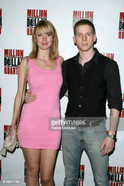 Gemma Clark and Stark Sands attend Opening Night of MILLION DOLLAR QUARTET at Nederlander Thearte on April 11 2010 in New York City