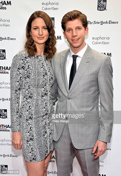 Gemma Clarke and Stark Sands attend IFP's 23nd Annual Gotham Independent Film Awards at Cipriani Wall Street on December 2 2013 in New York City