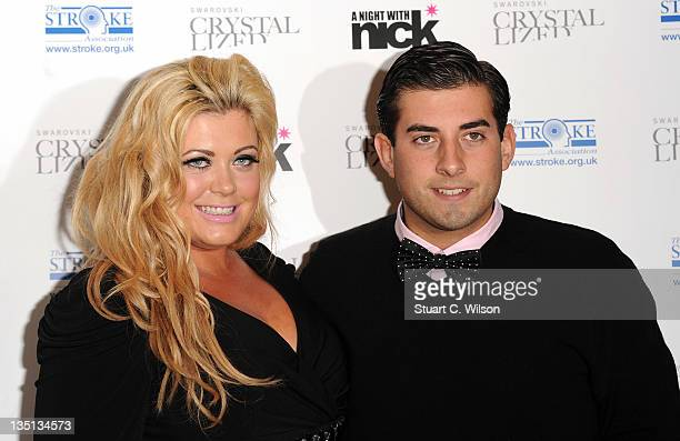 Gemma Collins and James Argent attend 'A Night With Nick' at Swarovski Crystallized on December 6 2011 in London England