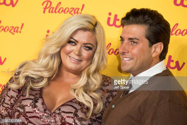 Gemma Collins and James Argent attend the ITV Palooza held at The Royal Festival Hall on October 16 2018 in London England