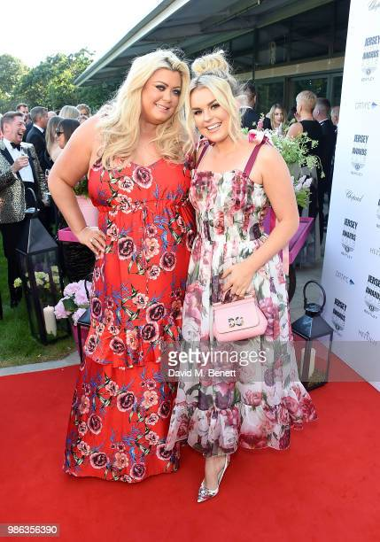 Gemma Collins and Tallia Storm attend the 2nd annual Jersey Style Awards in association with Bentley Motors Chopard and Ortac Aviation to celebrate...