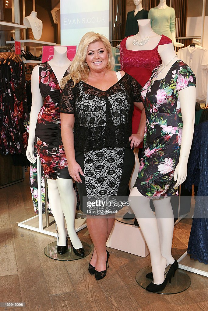 Gemma Collins Launch At Evans