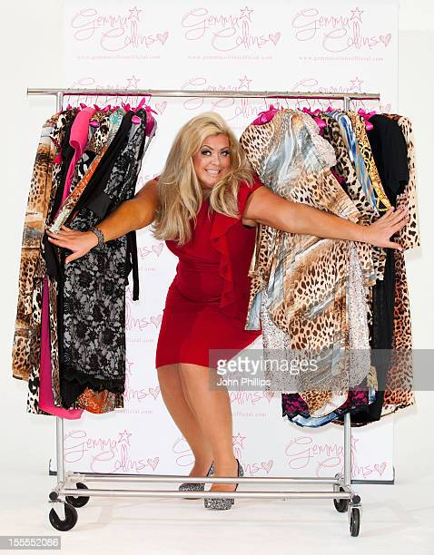 Gemma Collins attends a photocall to launch her plus size Autumn/Winter collection at The Worx on November 5 2012 in London England