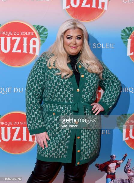 Gemma Collins attends Cirque du Soleil's LUZIA at The Royal Albert Hall on January 15 2020 in London England