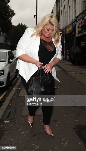 Gemma Collins attends Ester Dee All About the Beach launch party at The Directors Party Lounge on August 2 2017 in London England