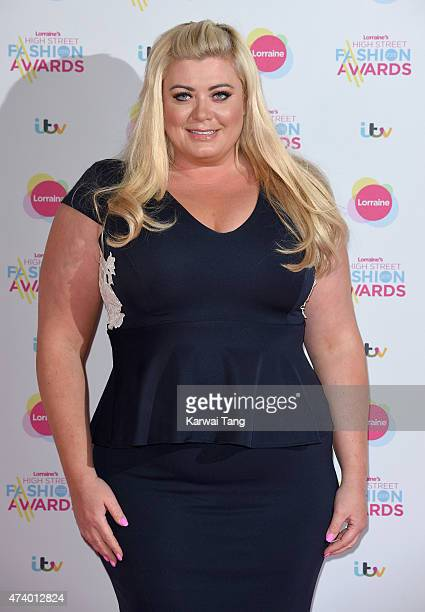 Gemma Collins attends Lorraine's High Street Fashion Awards at Grand Connaught Rooms on May 19 2015 in London England
