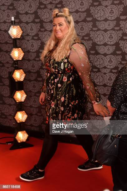 Gemma Collins attends the BBC Radio 1 Teen Awards 2017 at Wembley Arena on October 22 2017 in London England