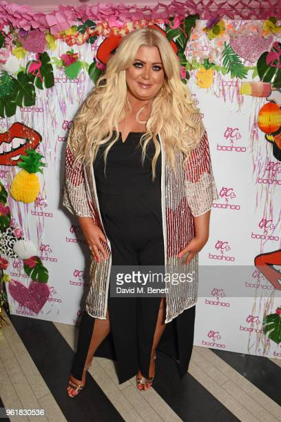 Gemma Collins attends the cocktail launch party to celebrate the Gemma Collins X Boohoo Collection at Tonight Josephine on May 23 2018 in London...