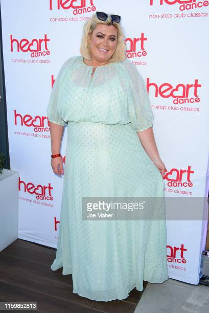 Gemma Collins attends the Heart Dance Media launch event at Global Radio Studios on July 03 2019 in London England