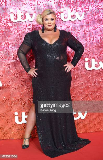 Gemma Collins attends the ITV Gala at the London Palladium on November 9 2017 in London England