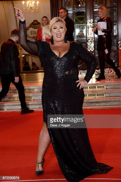 Gemma Collins attends the ITV Gala held at the London Palladium on November 9 2017 in London England