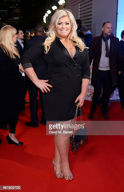 Gemma Collins attends the National Television Awards at 02 Arena on January 21 2015 in London England
