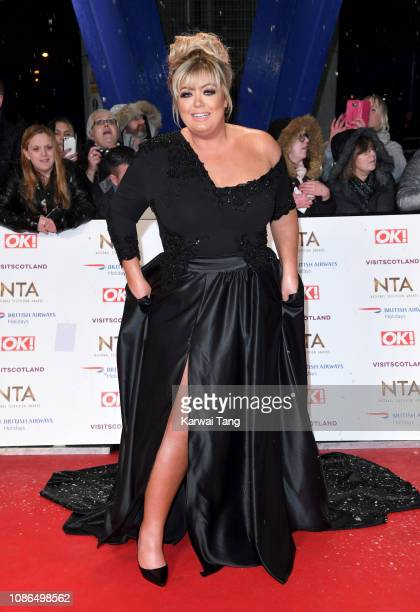 Gemma Collins attends the National Television Awards held at The O2 Arena on January 22 2019 in London England