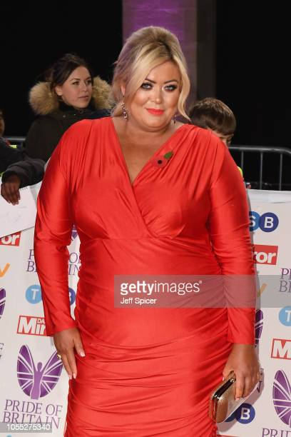 Gemma Collins attends the Pride of Britain Awards 2018 at The Grosvenor House Hotel on October 29 2018 in London England