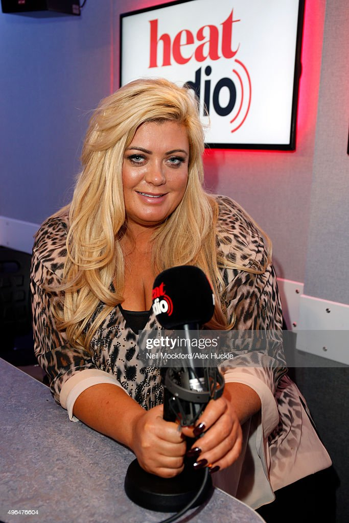 Gemma Collins Visits Heat Radio