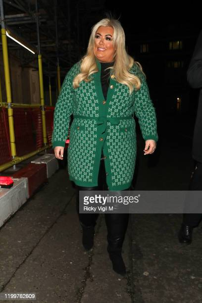 Gemma Collins seen attending Luzia by Cirque du Soleil press night on January 15 2020 in London England