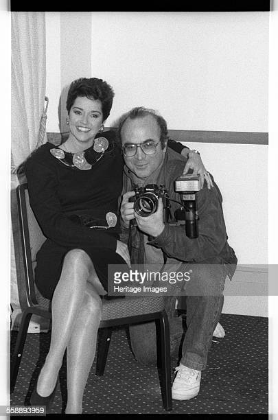 Gemma Craven and Bob Hoskins BAFTA Picadilly London 1990 Artist Brian O'Connor