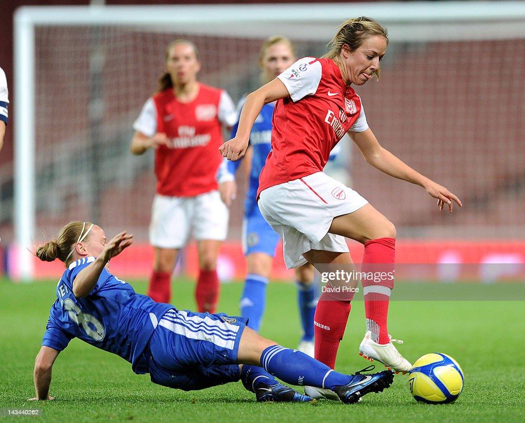 Arsenal Ladies v Chelsea LFC. Womens Super League